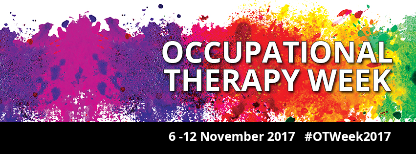 A time to celebrate! Occupational Therapy Week 2017