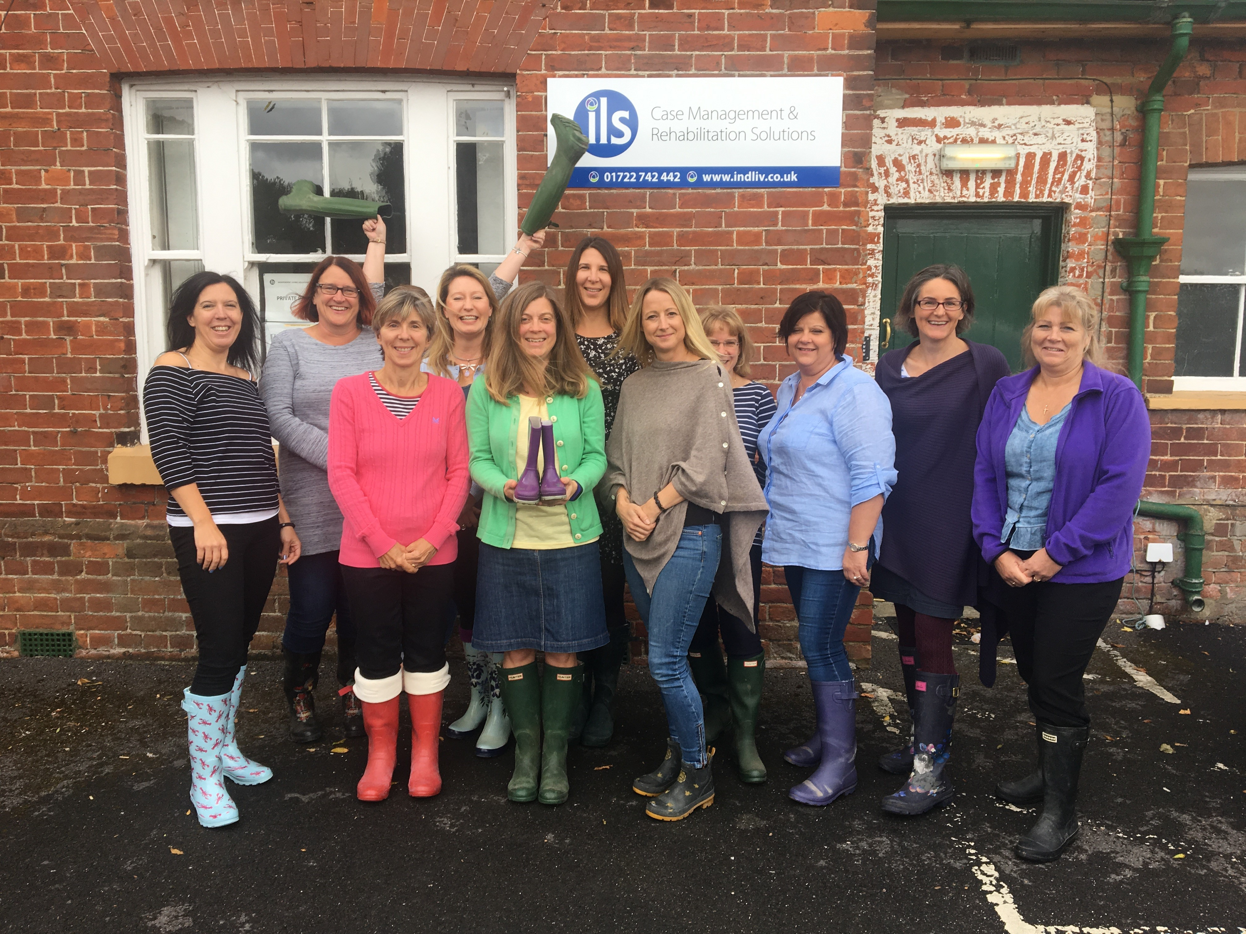 Wear Your Wellies for Thrive Charity