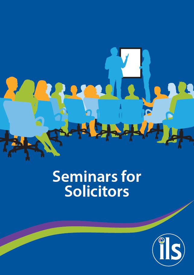 Seminars for Solicitors 2019 Brochure