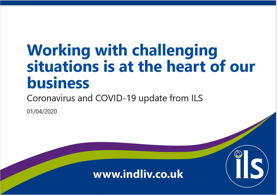 Coronavirus and COVID-19 update from ILS